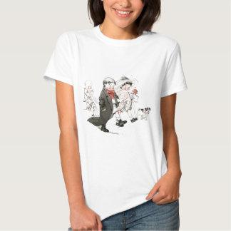 Cute Children Doing The Wedding March T-shirt