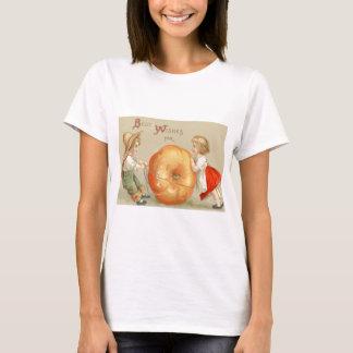 Cute Children Rolling Pumpkin T-Shirt