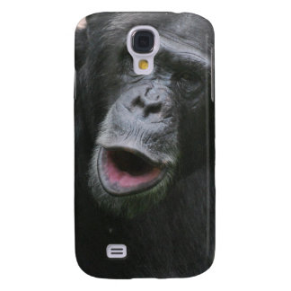 Cute Chimpanzee Galaxy S4 Cases
