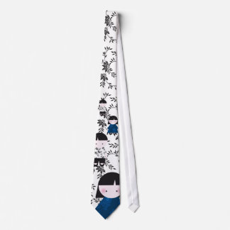 Cute chinese couple tie