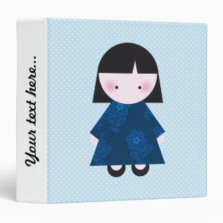 Cute chinese girl binder