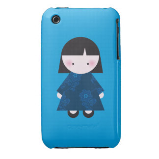 Cute chinese girl iPhone 3 case