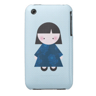 Cute chinese girl iPhone 3 cover