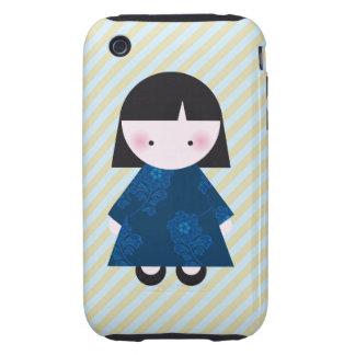 Cute chinese girl iPhone 3 tough case