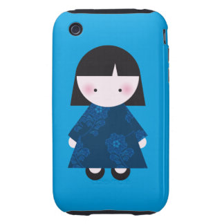 Cute chinese girl iPhone 3 tough cover