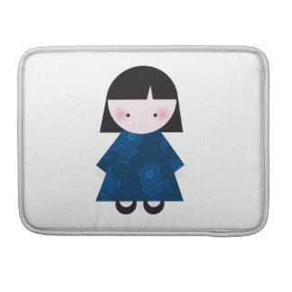 Cute chinese girl MacBook pro sleeve
