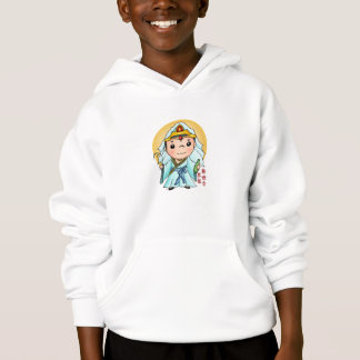 Cute Chinese God Of Compassion Hoodie