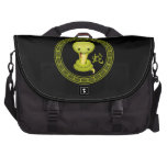 Cute Chinese Year of the Snake Laptop Bag
