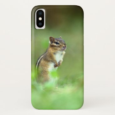 Cute Chipmunk iPhone XS Case