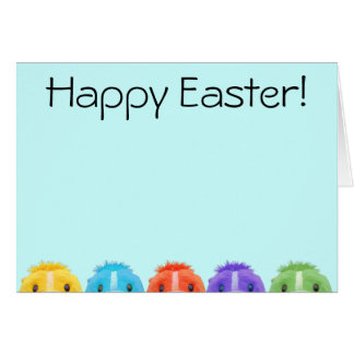 Cute Chipmunk Easter Card