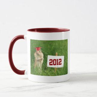 Cute Chipmunk Graduate Mug