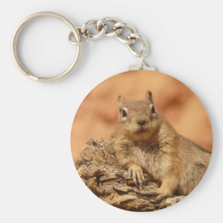 Cute Chipmunk Keychain