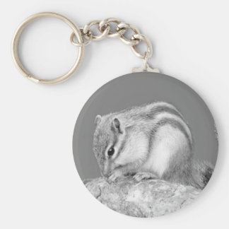 Cute Chipmunk Keychain