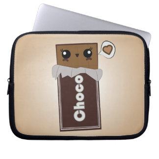 Cute Chocolate Bar Laptop Case