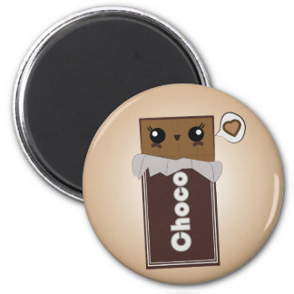 Cute Chocolate Bar Magnet