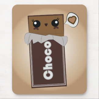 Cute Chocolate Bar Mouse Pad