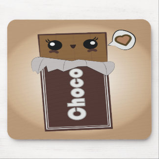 Cute Chocolate Bar Mousepad