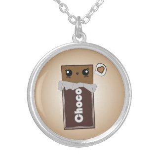 Cute Chocolate Bar Necklace