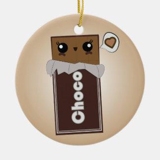 Cute Chocolate Bar Ornament