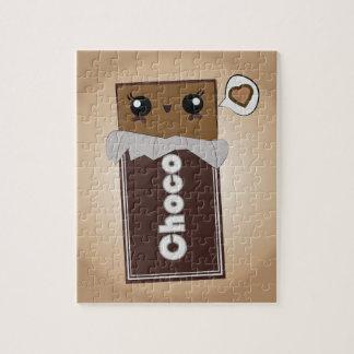 Cute Chocolate Bar Puzzle