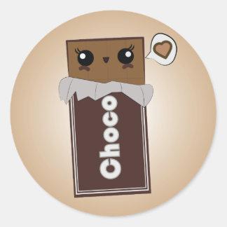 Cute Chocolate Bar Stickers