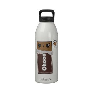 Cute Chocolate Bar Water Bottle