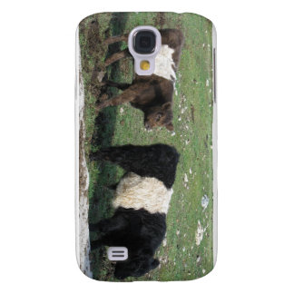 Cute Chocolate & Black Belted Calves Samsung Galaxy S4 Cover