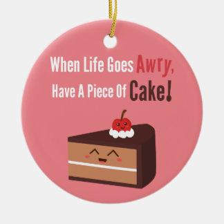 Cake Quotes Ornaments Keepsake Ornaments Zazzle