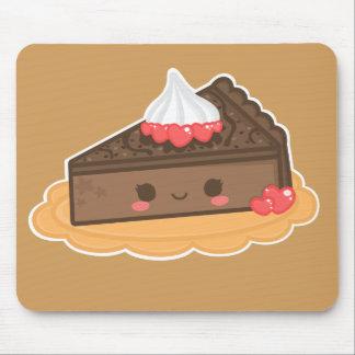 Cute Chocolate Cheesecake Mousepad