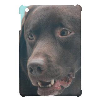 Cute Chocolate Lab iPad Mini Covers