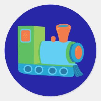 Cute Choo Choo Train Classic Round Sticker
