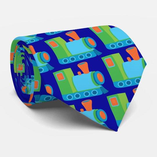 Cute Choo Choo Train Tie