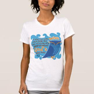 Cute Christian Owl T Shirt
