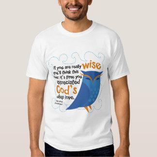 Cute Christian Owl T-shirts