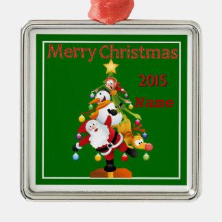 """Cute Christmas 2015"" Premium Ornament"