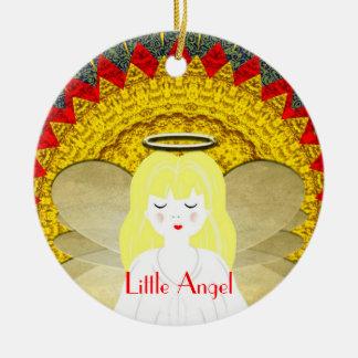 Cute Christmas Angel Ceramic Ornament