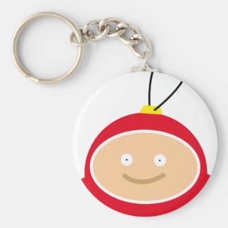 Cute Christmas ball Keychain