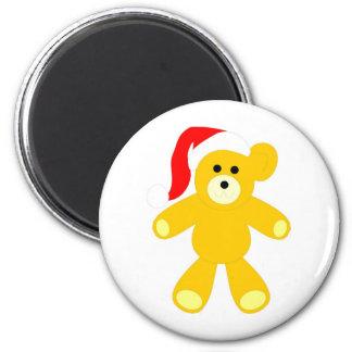 Cute Christmas Bear Magnet