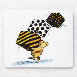 Cute Christmas Bears Mouse Pad