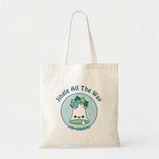 Cute Christmas Bell Tote Bag