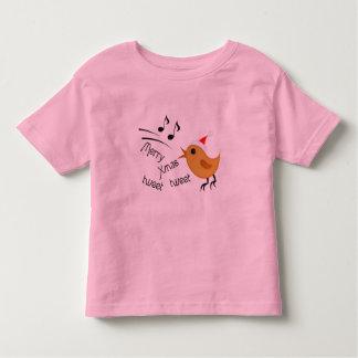 Cute Christmas Birdie Toddler's T-Shirt