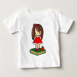 Cute Christmas brown haired teacher Shirt