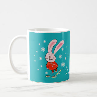 Cute Christmas Bunny Mug