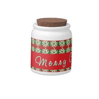 Cute Christmas Candy Jar