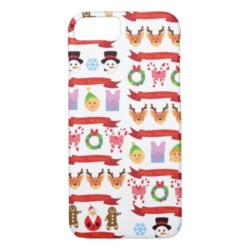 Cute Christmas iPhone 87 Case