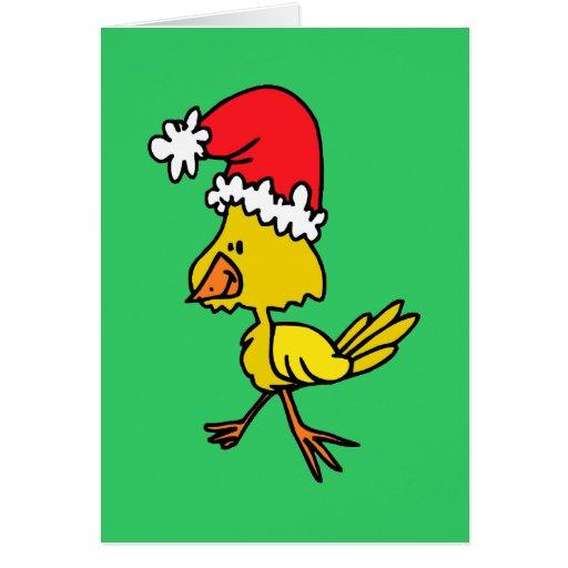 cute Christmas chic Card