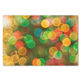 Cute Christmas Colorful Bubbles