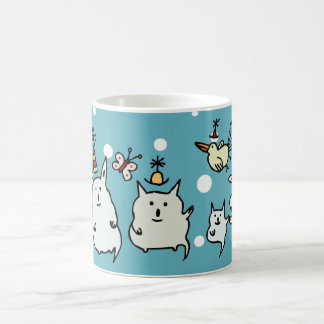 Cute Christmas Creatures Mug