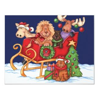 Cute Christmas Custom Announcement