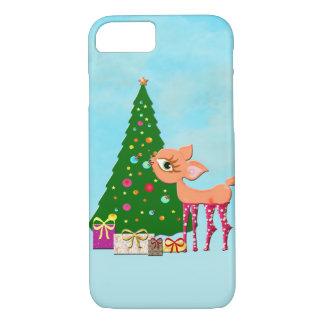 Cute Christmas deer iPhone 8/7 Case